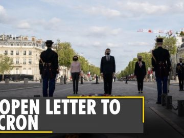 'Civil war is brewing in France': Soldiers warns President Emmanuel Macron | Latest English News