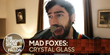 Mad Foxes: Crystal Glass | The Tonight Show Starring Jimmy Fallon