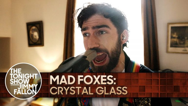 Mad Foxes: Crystal Glass   The Tonight Show Starring Jimmy Fallon