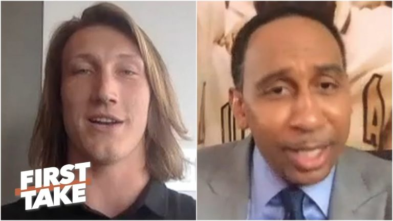 Stephen A.'s 1-on-1 interview with Trevor Lawrence before the 2021 NFL Draft | First Take