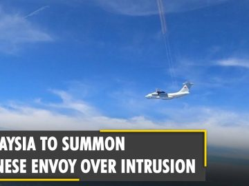 Malaysia to summon Chinese envoy over military aircrafts intrusion | South China Sea | World News