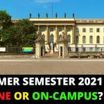 2021: Current Situation of German Universities | Is Summer Semester 2021 Going to Be Online?