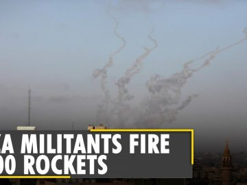 Over 1,500 rockets fired from Gaza into Israel | Palestine violence | Latest world English news