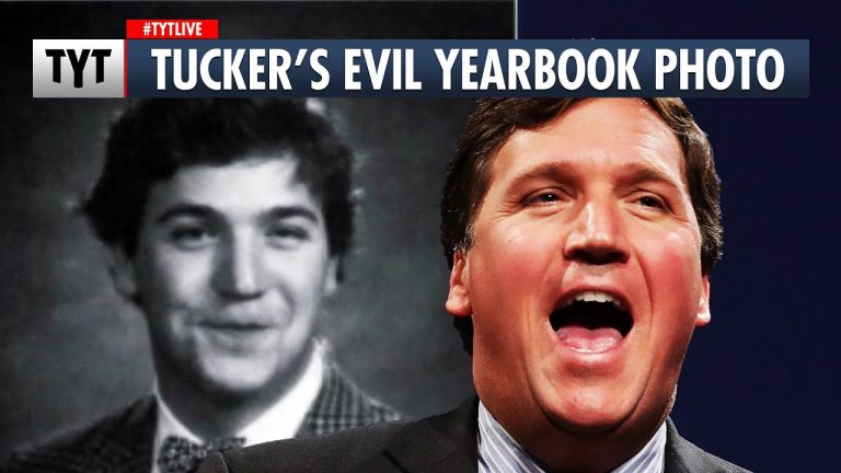 Tucker Carlson Doesn't Want You To See His Yearbook Photo