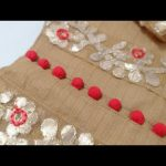 Easy and Simple Kurti Front Neck Design Cutting and Stitching // New Neck Design 3
