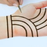 Beautiful Easy trick mehndi design for front hands - Simple Henna designs - Just Mehndi Designs 3