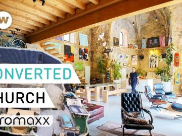 Living Inside A Fully Converted Former Church