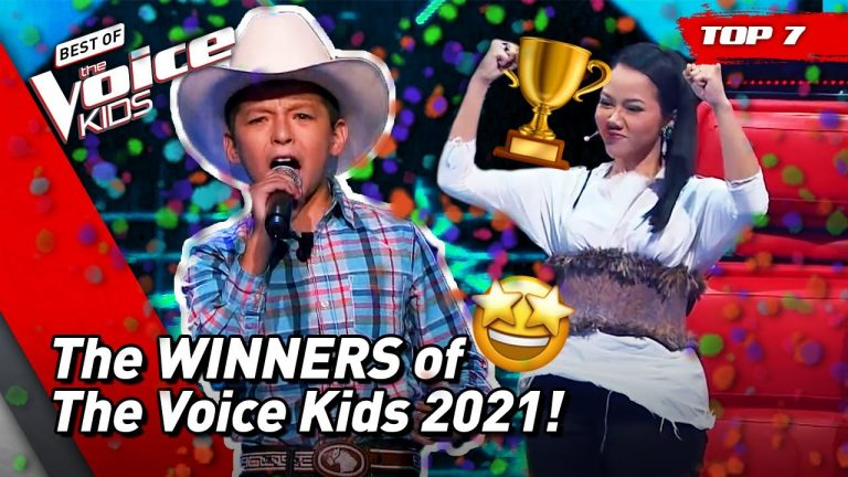 These TALENTS are the GREAT WINNERS of The Voice Kids 2021! 🏆  Top 7 1