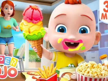No No Snacks Song   Yes Yes Stay Healthy + More Nursery Rhymes & Kids Songs - Super JoJo 30