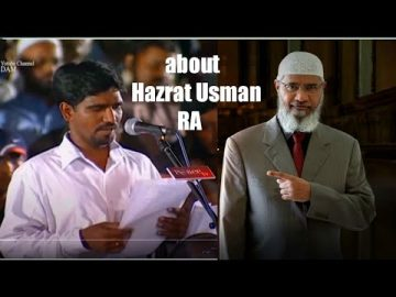 Had Allah (AMTGOD) protected the Qur'an, Uthman would not have set it on fire || dr zakir naik