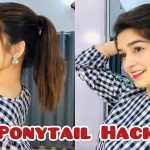 Ponytail Hack For Straight Hair    IT Works 2