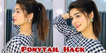 Ponytail Hack For Straight Hair || IT Works 15