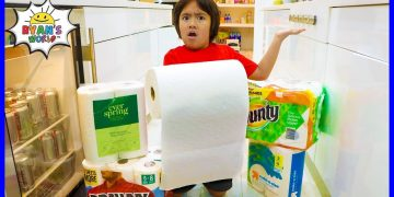 Easy DIY Science Experiment Which Paper Towel is the Strongest!! 6
