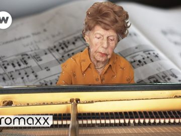 One Of The Oldest Pianists In The World - The Story Of 106-Year Old Colette Maze
