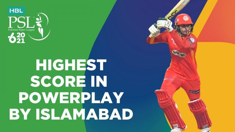 Highest Score In Powerplay By Islamabad | Islamabad vs Quetta | Match 18 | HBL PSL 6 | MG2T