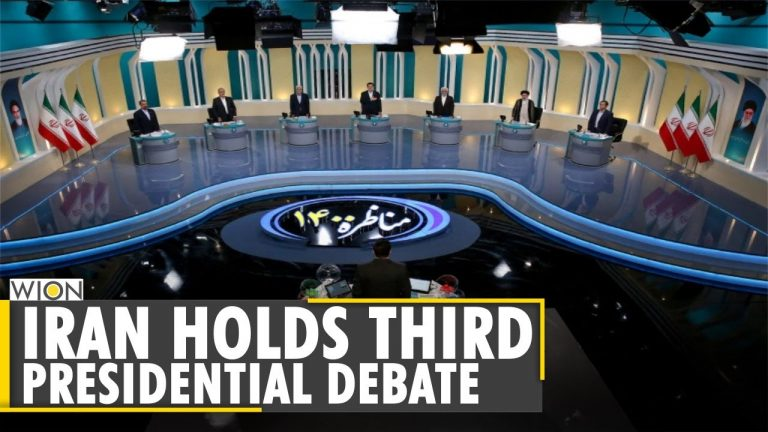 Iran Presidential Election: Presidential candidates hold third televised debate   Latest News   WION