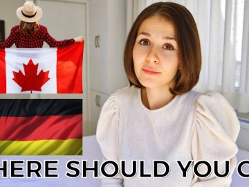 CANADA OR GERMANY   Best Country for Immigration