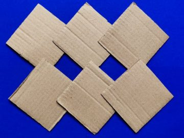 Superb Home Decor Idea Out Of Waste Cardboard - Easy Wall Hanging - Paper Crafts for Home Decoration