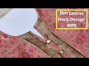 New Kurti Front Neck Design Easy Cutting and Stitching || neck designs ||@RR Fashion Point 2