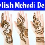 New Latest Stylish Mehndi designs - Most Beautiful Easy Mehendi designs for front hands 4