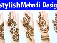 New Latest Stylish Mehndi designs - Most Beautiful Easy Mehendi designs for front hands 37