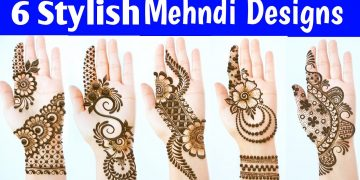 New Latest Stylish Mehndi designs - Most Beautiful Easy Mehendi designs for front hands 18
