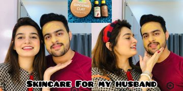 Skin Care For My Husband || Solution For Acne Issue 13