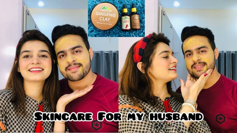 Skin Care For My Husband || Solution For Acne Issue 1