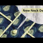 Elegant and Very Easy Front Neck Design For Kurti/Suit Cutting and Stitching @RR Fashion Point 1