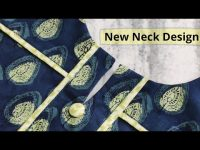 Elegant and Very Easy Front Neck Design For Kurti/Suit Cutting and Stitching @RR Fashion Point 29