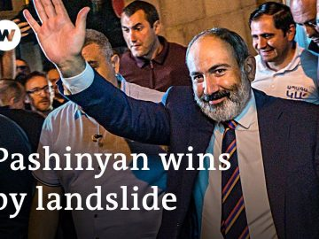 Armenian Prime Minister wins another term after snap elections | DW News