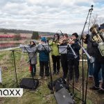 World's Longest Orchestra Pit - Enjoying Beethoven's Symphony No 9 On A Train Ride | DW Euromaxx