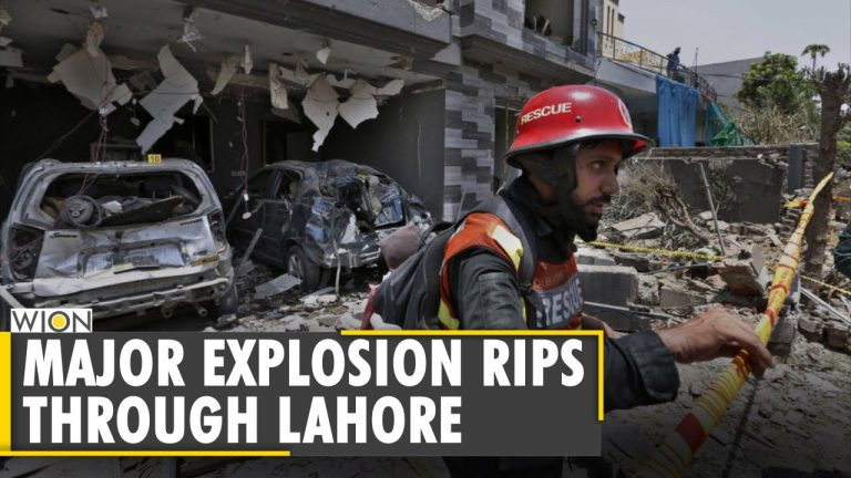 At least 3 killed in bomb blast near house of Hafiz Saeed in Lahore   Pakistan   Latest English News