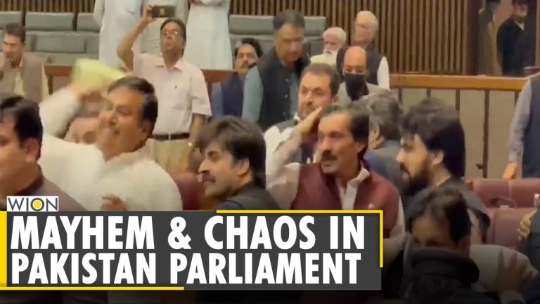 Pakistan National Assembly Speaker suspends 7 lawmakers after chaos   Latest English News   World