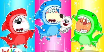 Wolfoo Has Fun with the Baby Shark Dance - Wolfoo Kids Stories About Baby | Wolfoo Channel 19