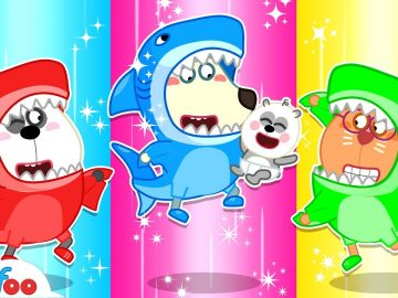 Wolfoo Has Fun with the Baby Shark Dance - Wolfoo Kids Stories About Baby   Wolfoo Channel 20