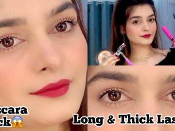 Get Thick & Longer Lashes With Mascara || Tips & Tricks 7