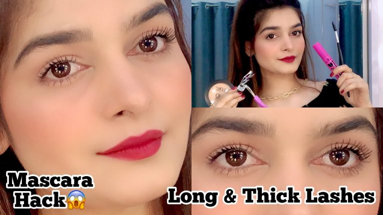 Get Thick & Longer Lashes With Mascara || Tips & Tricks 1