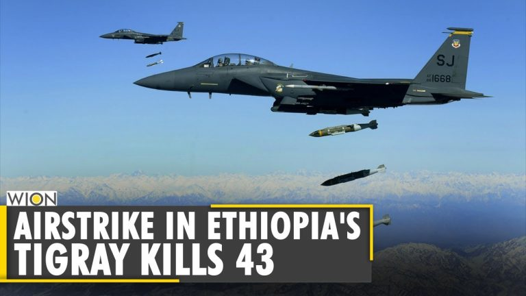 At least 43 killed after airstrike hits the market in Ethiopia's Tigray region   English News   WION