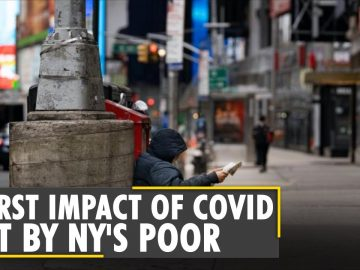 Number of homeless people rise to record levels in New York City | Latest World English News | WION