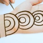 Easy trick mehndi design for front hands - Beautiful and simple mehndi design 2020 3