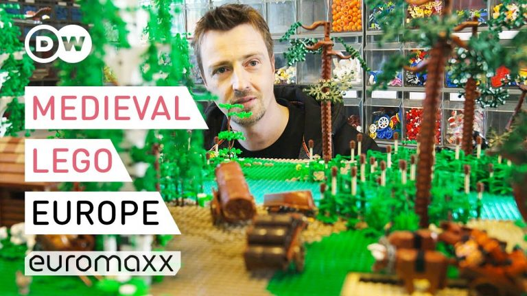Medieval Europe Made Out Of Lego With 'Lego Masters' René Hoffmeister