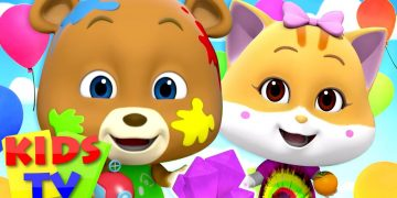 Colors Song | Colors for Kids | Loco Nuts Nursery Rhymes & Baby Songs | Cartoon Show by Kids Tv 17