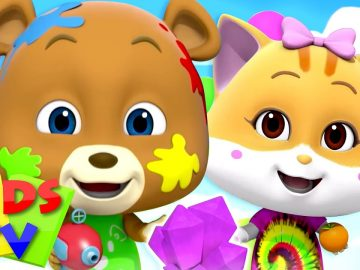Colors Song   Colors for Kids   Loco Nuts Nursery Rhymes & Baby Songs   Cartoon Show by Kids Tv 18