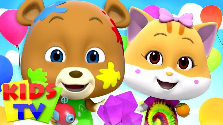 Colors Song   Colors for Kids   Loco Nuts Nursery Rhymes & Baby Songs   Cartoon Show by Kids Tv 1