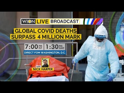 WION Live Broadcast: Watch top news of the hour   Global COVID deaths surpass 4 million mark   World