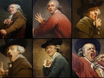 Joseph Ducreux made Paintings with Un-Orthodox Poses 11