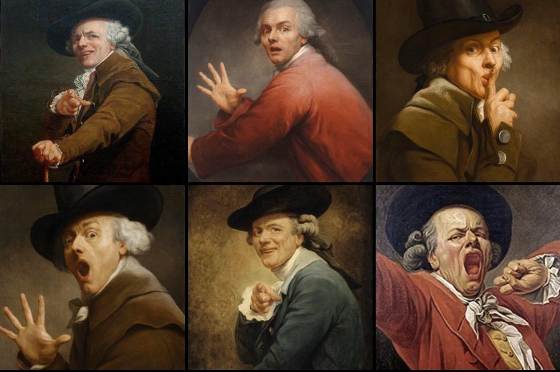 Joseph Ducreux made Paintings with Un-Orthodox Poses 3
