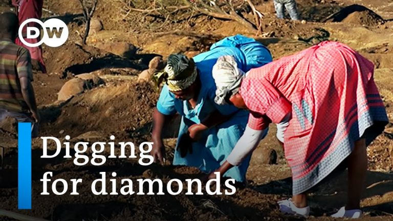Diamond rush grips village in South Africa   DW News