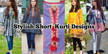 Stylish Short Kurti Designs For Summers || Fusion Tops 10